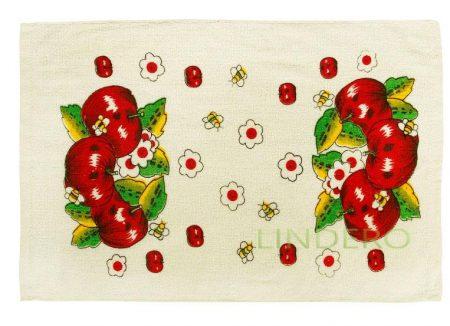 фото: Полотенце кухонное, 60*35, красные яблоки [4210167-5]