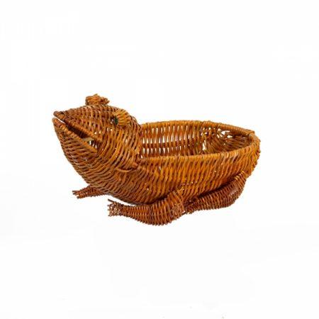 фото: Декоративная ваза ЖАБА-2 16х30х9см (ТО4-1054/2) [EA849]