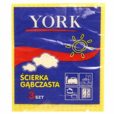 фото: Салфетка YORK 3шт губчатая (G2401) [G0099]