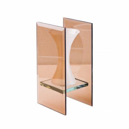 фото: Ваза стеклянная в рамке ОСЕНЬ [GC11821]