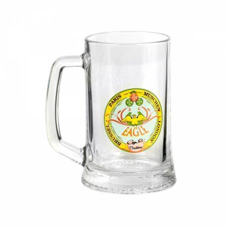 фото: Набор кружек для пива ДРЕЗДЕН декорированных 500мл 2шт [H5549]