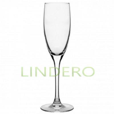 фото: Набор фужеров для шампанского СИГНАТЮР (ЭТАЛОН) 3шт 170мл [J9756]
