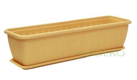 фото: Балконный ящик АЛИЦИЯ 800 мм с поддоном [М 3216]