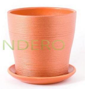 фото: Горшок керамический Флер оранжевый тополь №2 D14 []