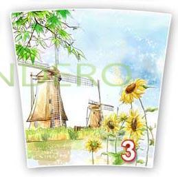 фото: Горшок цвет. Евро набор (номер 1,2,3,Чикаго Художка) деколь №3 []