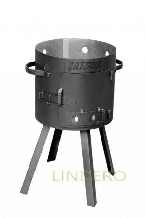 фото: Печка-очаг для казана 4,5л, толщина металла 2,2мм [10]
