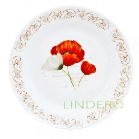 фото: Тарелка десертная 19см ф.круг МАКИ [kl23189]