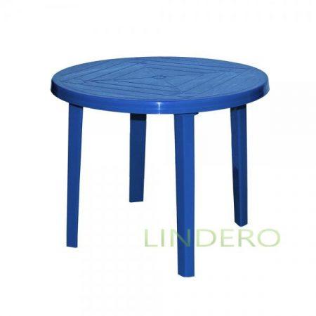 фото: Стол круглый синий [kr19]