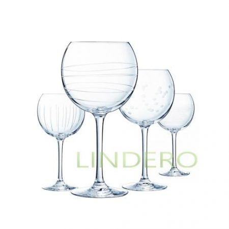 фото: Набор фужеров (бокалов) для вина ИЛЛЮМИНЕЙШН БАЛЛОН 470мл 4шт [L7560]