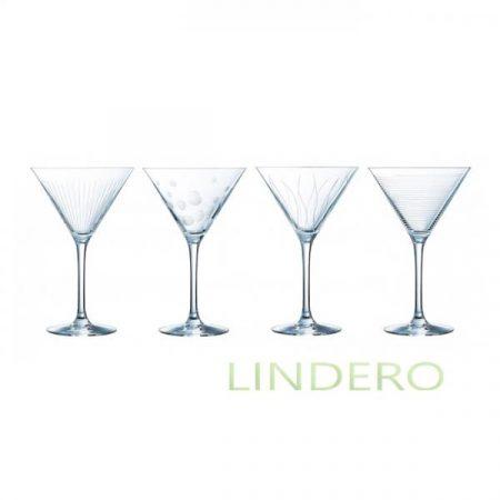 фото: Набор фужеров (бокалов) для коктейля ИЛЛЮМИНЕЙШН 300мл 4шт [l7562]