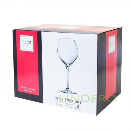 фото: Набор фужеров (бокалов) для белого вина ВАЙН ЭМОУШЕНС 470мл 6шт [L7587]