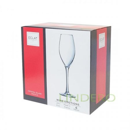 фото: Набор фужеров (бокалов) для шампанского ВАЙН ЭМОУШЕНС 240мл 6шт [L7591]