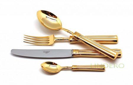 фото: Набор столовых приборов FONTAINEBLEAU GOLD 24 пр. [9161]