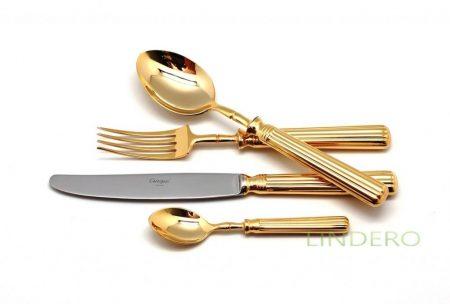 фото: Набор столовых приборов LINE GOLD 24 пр. [9171]