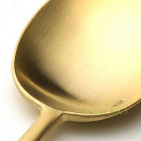 фото: Набор столовых приборов VAN DER ROHE GOLD мат. 24 пр. [9212]