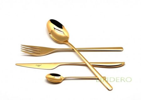 фото: Набор столовых приборов  ICON GOLD 24 пр. [9251]