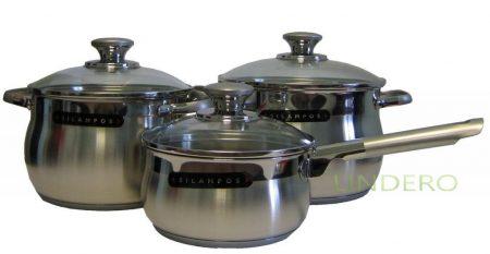 "фото: Набор посуды 3 предмета ""РОЯЛ САТИН"" [633123V60217 ]"