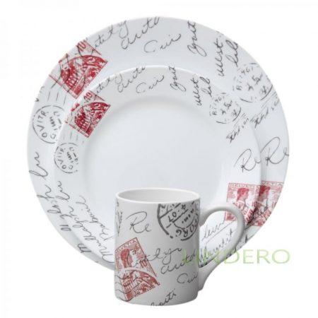 фото: Тарелка закусочная 22см Sincerely Yours [1108509]