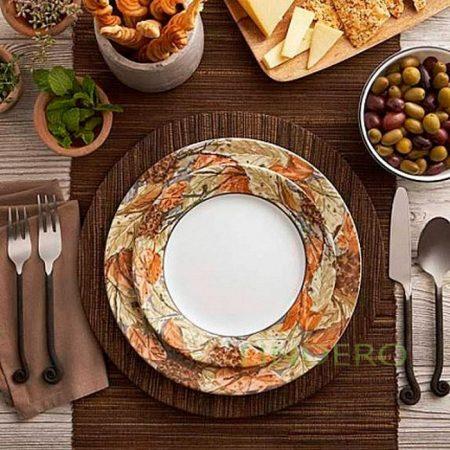 фото: Тарелка закусочная 22см Woodland Leaves [1109568]