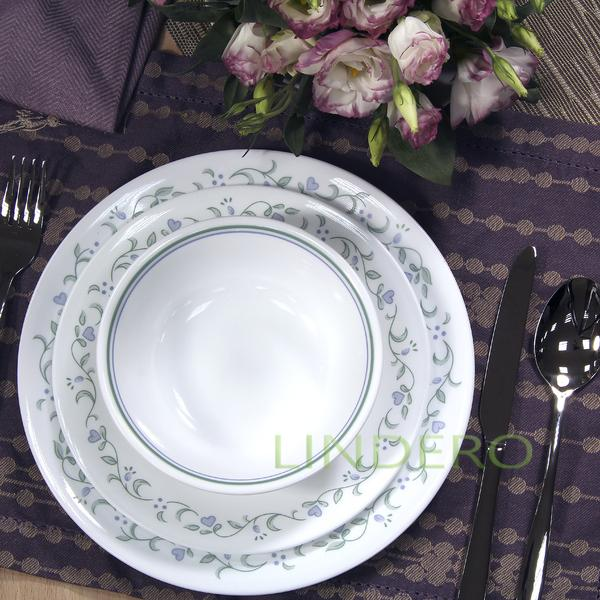 фото: Тарелка суповая 440мл с бортом Country Cottage [6018490]