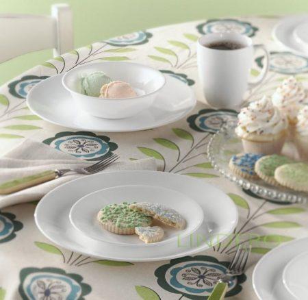 фото: Тарелка обеденная 25см Winter Frost White [6003893]
