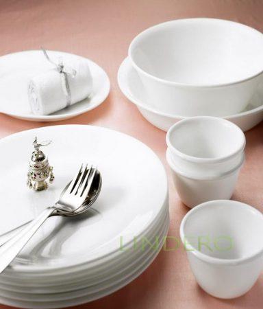 фото: Тарелка суповая 440мл с бортом Winter Frost White [6017636]