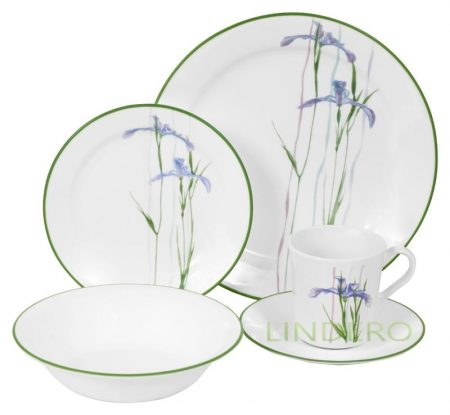 фото: Тарелка суповая 650мл Shadow Iris [1085643]