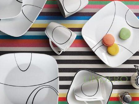 фото: Тарелка закусочная 22см Simple Lines [1069985]