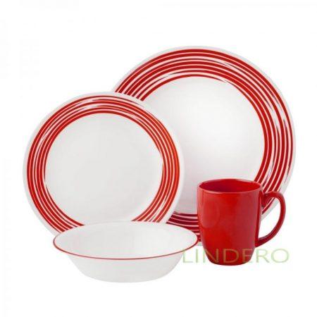 фото: Тарелка закусочная 22см Brushed Red [1118421]