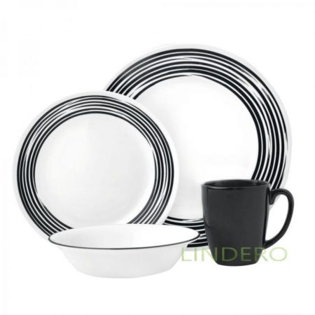 фото: Тарелка закусочная 22см Brushed Black [1118425]