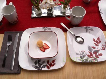 фото: Тарелка суповая 650мл Kyoto Leaves [1101081]
