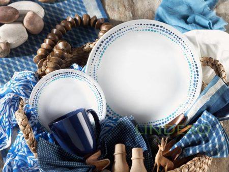 фото: Тарелка закусочная 22см Ocean Blues [1119401]