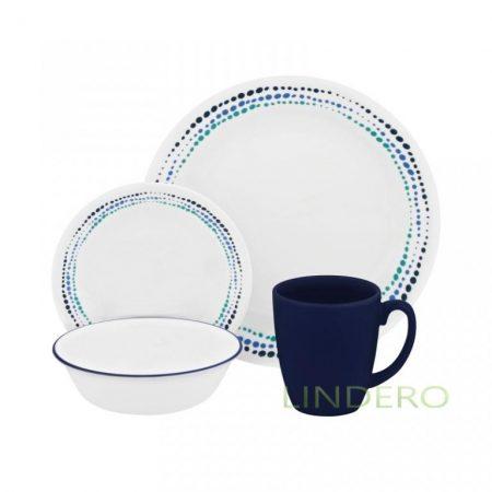фото: Набор посуды Ocean Blues 16 пр [1119403]