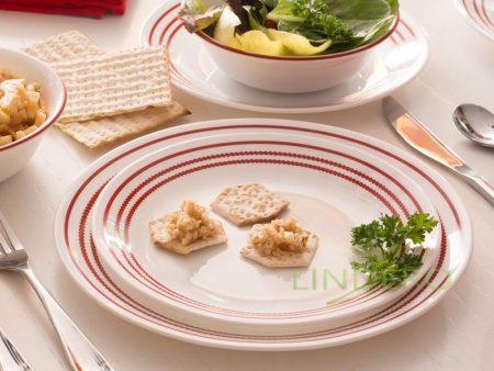 фото: Тарелка закусочная 22см Ruby Red [1114009]