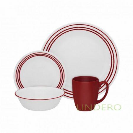 фото: Набор посуды Ruby Red 16 пр [1114016]