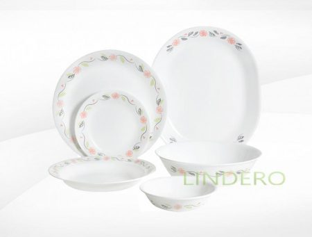 фото: Тарелка закусочная 22см Tangerine Garden [1117763]