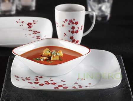 фото: Тарелка суповая 650мл Hanami Garden [1103189]