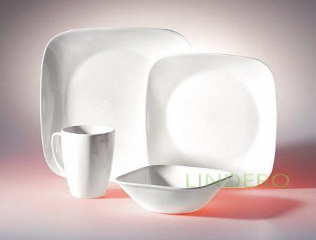 фото: Набор посуды Pure White 16 пр [1069958]