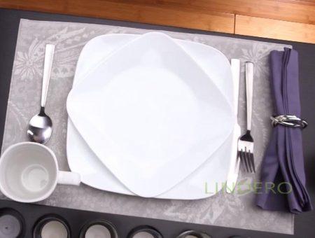 фото: Блюдо прямоугольное 27см Pure White [1077748]