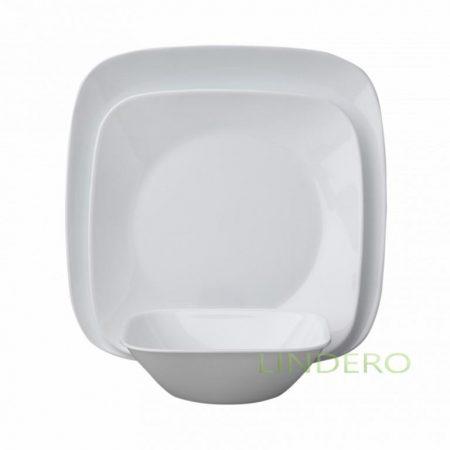 фото: Набор посуды Pure White 18 пр [1088641]