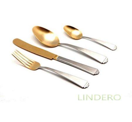 фото: Набор столовых приборов SPIGA OLD GOLD 24 пр. [08030241600E13 ]