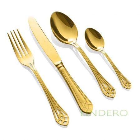 фото: Набор столовых приборов VITRAL GOLD 24 пр. [186302401172000017]