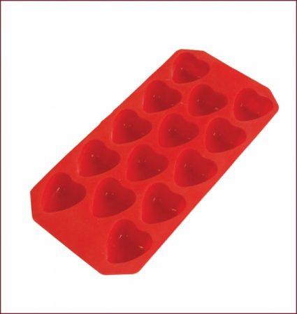 фото: Форма из силикона СЕРДЕЧКИ MARMITON 14 кубиков [LG16010]