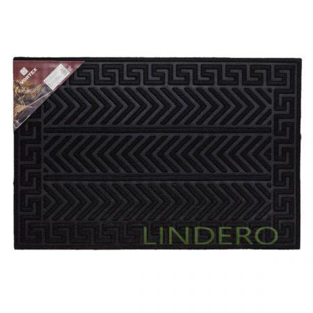 фото: Коврик рельефный Greek 40×40см черный VORTEX [lgv20102]