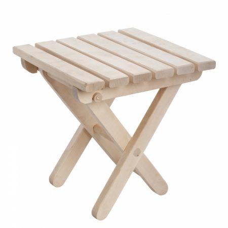 фото: Табурет деревянный складной (Т-04) [LI22]