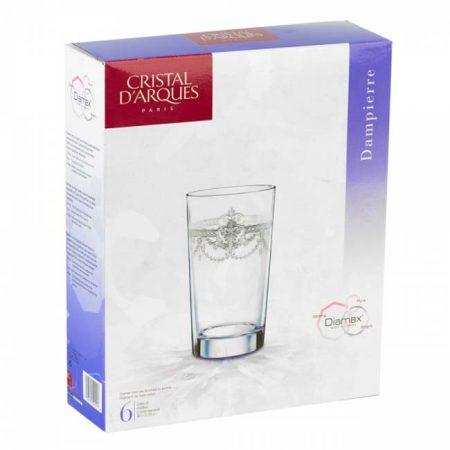 фото: Набор стаканов ДАМПЬЕР 380мл 6шт высокие [G5125]