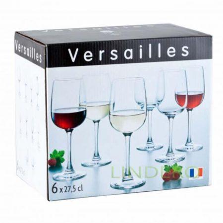 фото: Набор фужеров для вина ВЕРСАЛЬ 6шт 275мл [G1509]