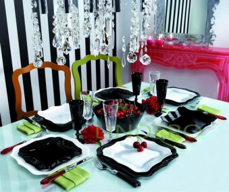 фото: Столовый сервиз Authentic White, 19 предметов [E6197]