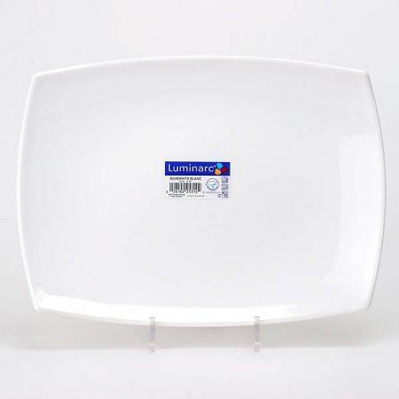 фото: Блюдо Quadrato White прямоугольное, 35х26 см. [D6413]