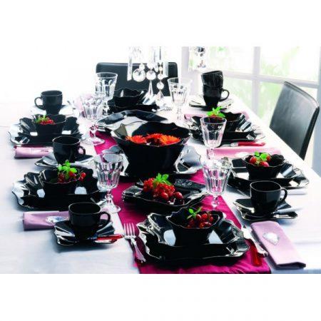 фото: Столовый сервиз Authentic Black, 19 предметов [E6196]